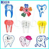 2018 hot sale Dental colock for Clinic dental decorations crafts dental wall clock dentist gift