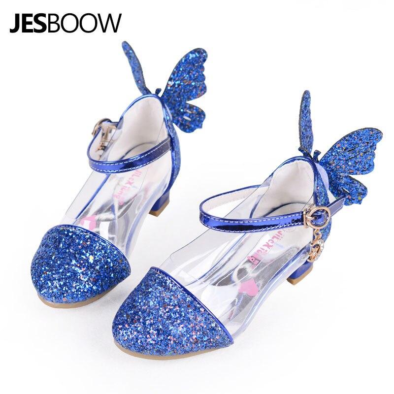 Peuter Meisjes Wing Glitter party pumps sandaal Pailletten Butterfly - Kinderschoenen - Foto 3