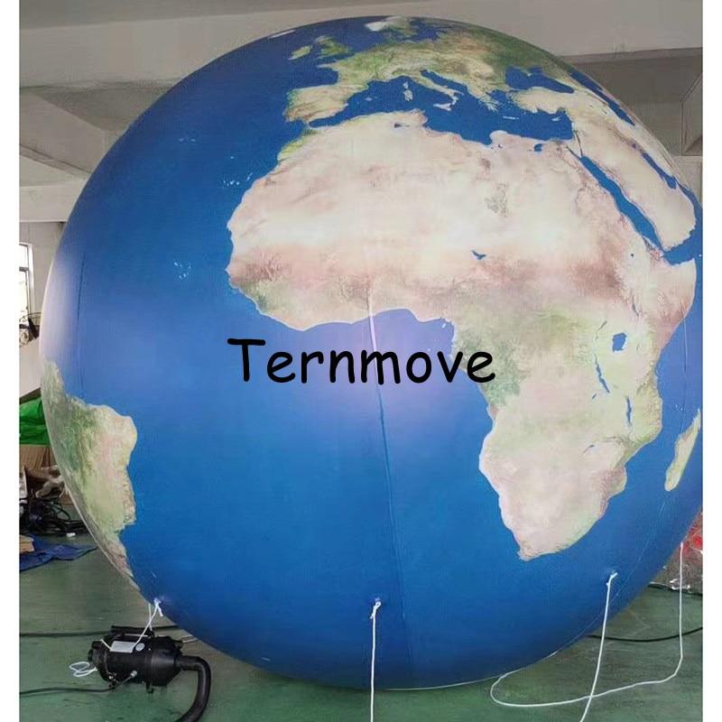 Terre gonflable, grands globes gonflables du monde à vendre globe gonflable livraison gratuite éducation géographique publicité jouet - 5