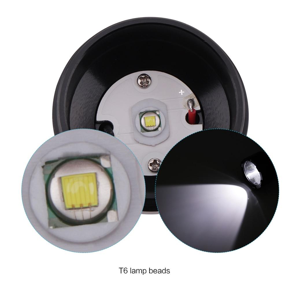 BORUiT C9 XML T6 LED Flashlight USB Rechargeable Torch 4-Mode Flash Light Outdoor Camping Hunting Lantern 18650 Battery