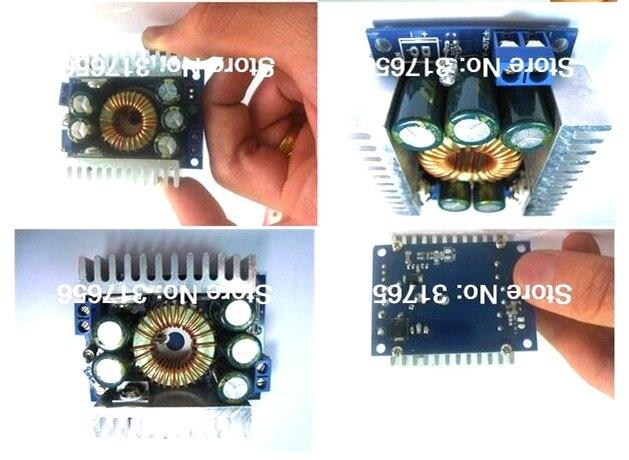 High Power Buck Converter DC 4.5-30V to 0.8-30V 12A Adjustable Step Down voltage Car Power Supply Voltage Regulator s9018 50ma 30v to 92