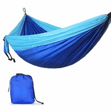 320*200cm Ultra-Large 2-3 People Sleeping Parachute Hammock Chair Hamak Garden Swing Hanging Outdoor Hamacas Camping 118*78''(China)