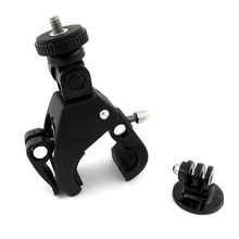 Quick Release Pipe Clamp Bike Bicycle Motorcycle Handlebar Mount for Gopro New Hero 8 7 6 5 4 3 3+ 2 1 Session Hero+ Hero7