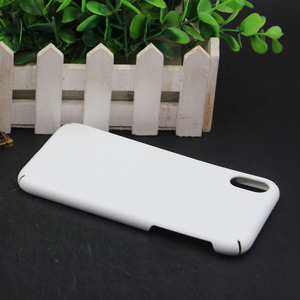 Image 2 - MANNIYA 3D Sublimation Full covered edge Blank white Phone Cases for iphone XS XR XS Max Free Shipping! 100pcs/lot