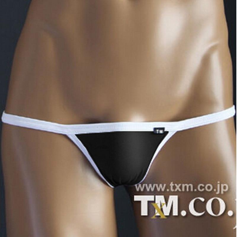 TM  Sexy G-string,strings Mens Thong Swimwear Gay Men Underwear Sexy Ekstrim Mens Bikini,G String Yang Singkat Celana Pakaian