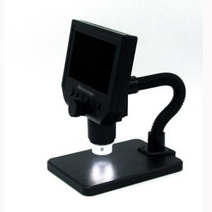"""Image 2 - 600X microscopio usb microscopio video digitale della macchina fotografica 8 LED VGA Microscopio per la saldatura Con 4.3 """"HD Schermo OLED G600"""