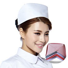 6 Sizes Matin Surgical Cap White Blue Pink Swan Nurse Scrub Cap Vintage Cap Medical Swallowtail Cap Customizable Stripes