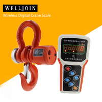 3T Wireless Digital Electronic Hanging Crane Scale With Wireless Handheld Meter