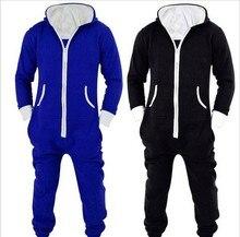 2016 Winter Männer Plus Größe Hause Pyjamas One Piece Erwachsene Onesie Mens Frauen Superman Overall Nachtwäsche as0124