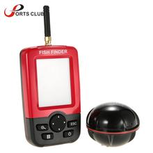 Wireless Fishing Finder Sonar Sensor Transducer Fishfinder LCD Fish Finder  Fish Alarm Depth Locator with LED Backlight