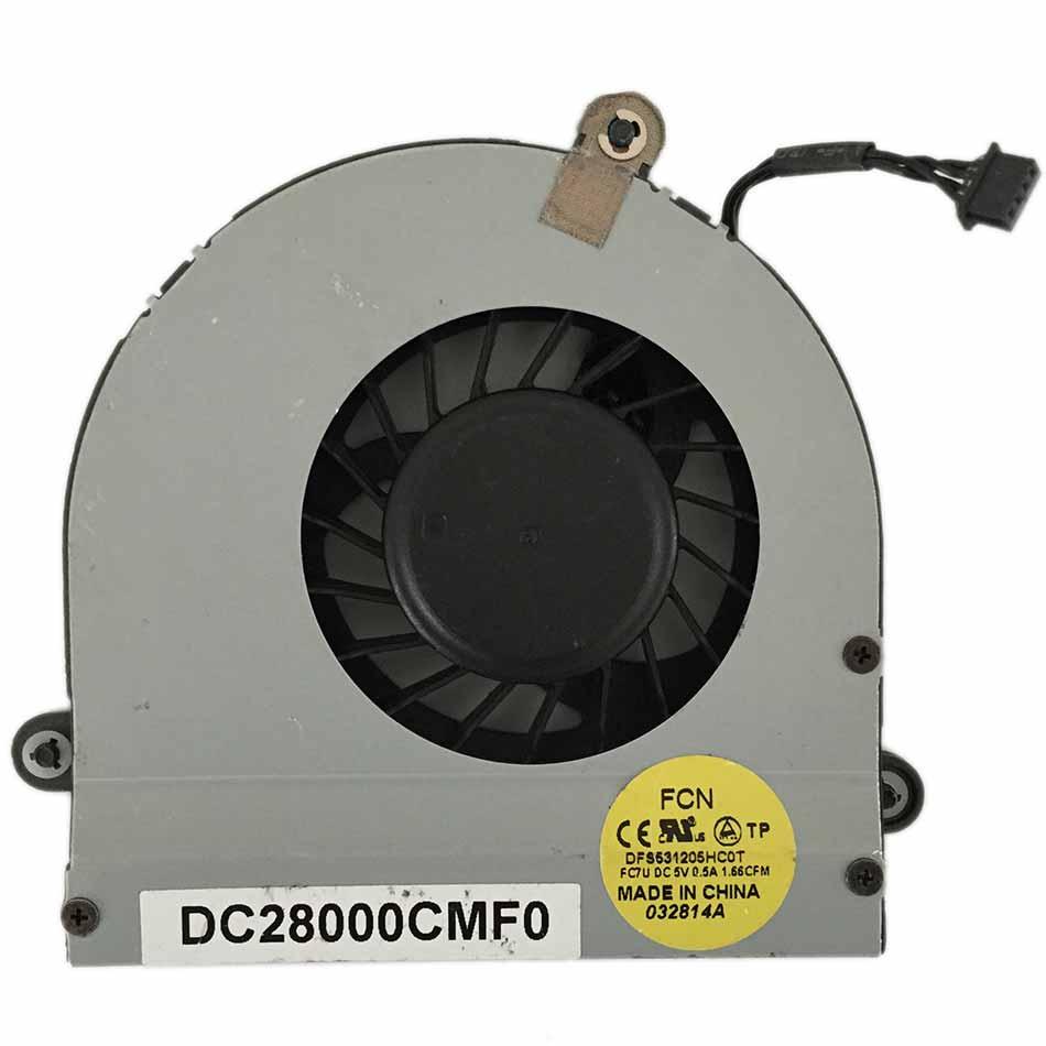 CPU Cooling Fan for Dell Alienware M17XR3 M17X R3 R4 / 0XVXVH DC28000CMF0 XVXVH охлаждение для компьютера for dell dell alienware m17x m17x r4 yhp1p 0yhp1p cn 0yhp1p m17xr4