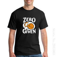 Zero fox given Geek Tees Men's Crew Neck T Shirt Men Fashion Hot Sale Natural Cotton Man Shirt