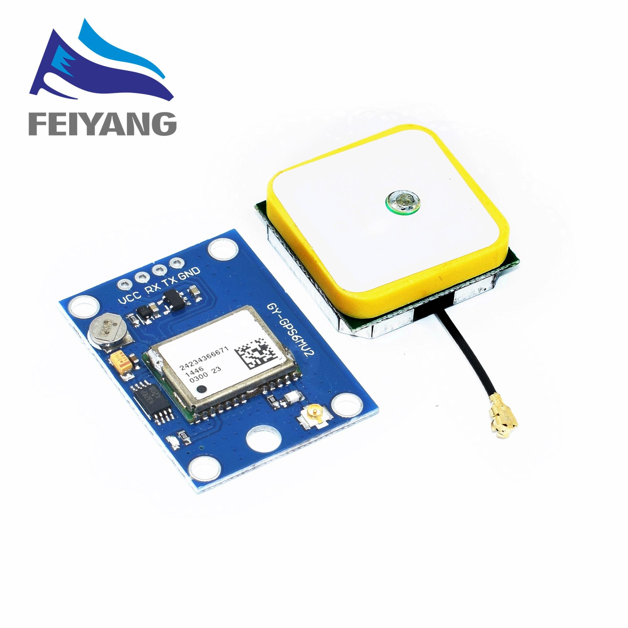 10pcs lot GY NEO6MV2 new GPS module NEO6MV2 with Flight Control EEPROM MWC APM2 5 large