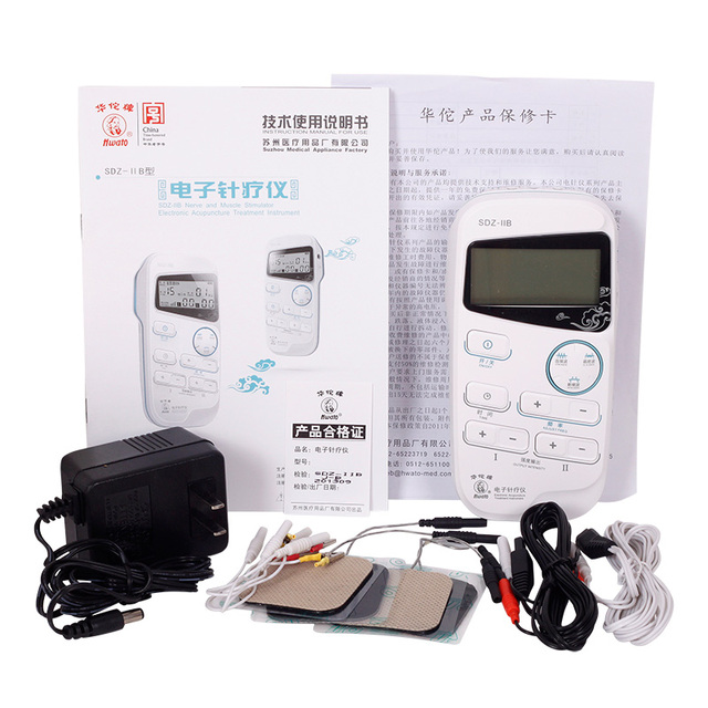 Hwato SDZ IIB Elektroakupunktur Physiotherapie Instrument 2 Kanal Ausgang