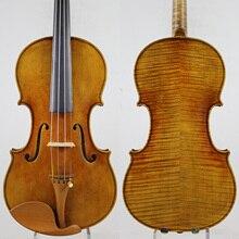 Мастер скрипки! Европейское дерево! Копия Antonio Stradivari! Сильный и глубокий тон!! Despiau мост! Доминант 135B струны
