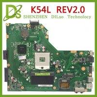 KEFU K54L For ASUS X54H K54L REV 2 0 Notebook K54L Laptop Motherboard PC Main Board