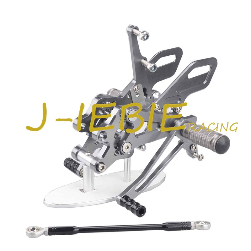CNC Racing Rearset Adjustable Rear Sets Foot pegs Fit For Kawasaki NINJA ZX10R 2004 2005 TITAINUM morais r the hundred foot journey