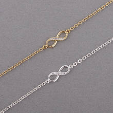 Shuangshuo 2017 new fashion infinity bracelet for women with