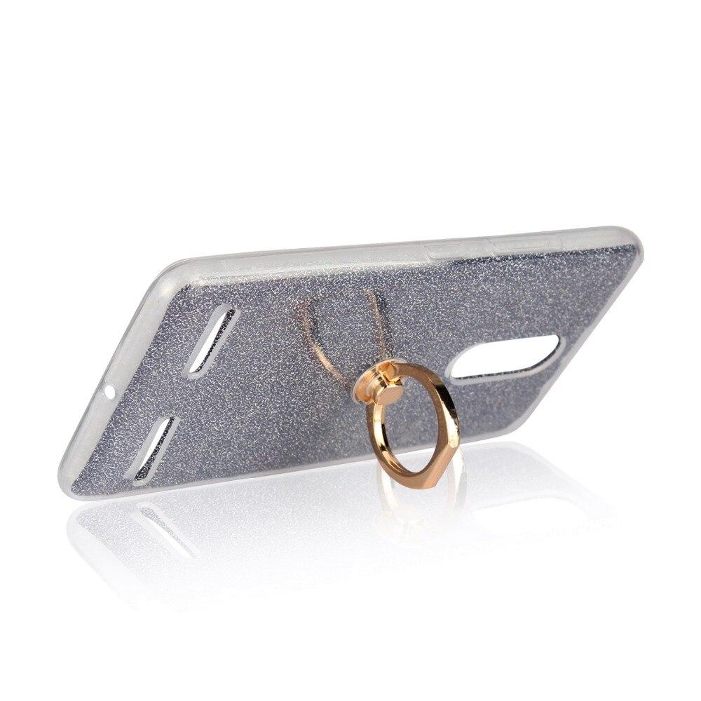 Ultrafino Soft TPU Gel Original Kickstand Finger Ring Cubierta del - Accesorios y repuestos para celulares - foto 4