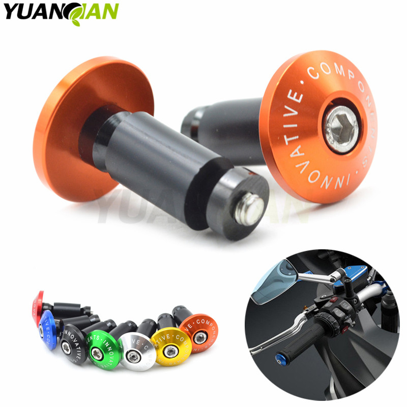7/8''22 motorcycle handlebar cap motocross handle bar grips ends For KTM SX EXC 250 125 690 390 DUKE YAMAHA R1 R6 TMAX 530 500 motorcycle cnc balance bar for ktm 125 duke 200 duke 390 handle rebar handlebar modification parts accessories balance bar