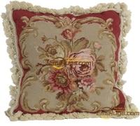 Needlepoint Classic Cushion Needle Point Cushion Couch Throw Interior Decoration Cushion Fleece Pillow