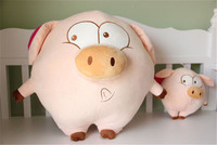 lovely Mcdull pig Plush toy flying pig doll soft pillow toy, baby toy, birthday gift p9336