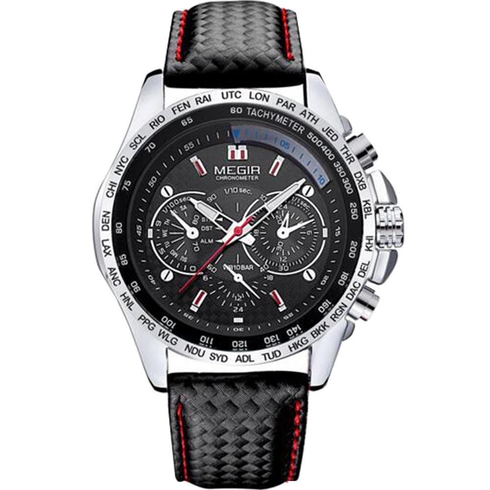 online get cheap designer men watches aliexpress com megir 2016 sports mens watch top brands military steampunk fashion luxury casual army quartz stylish designer