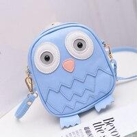 Girls Cartoon Crossbody Bolsas Animal Owl Bag Children Messenger Bags Kids Schoolbags Best Gift Bags Kawaii