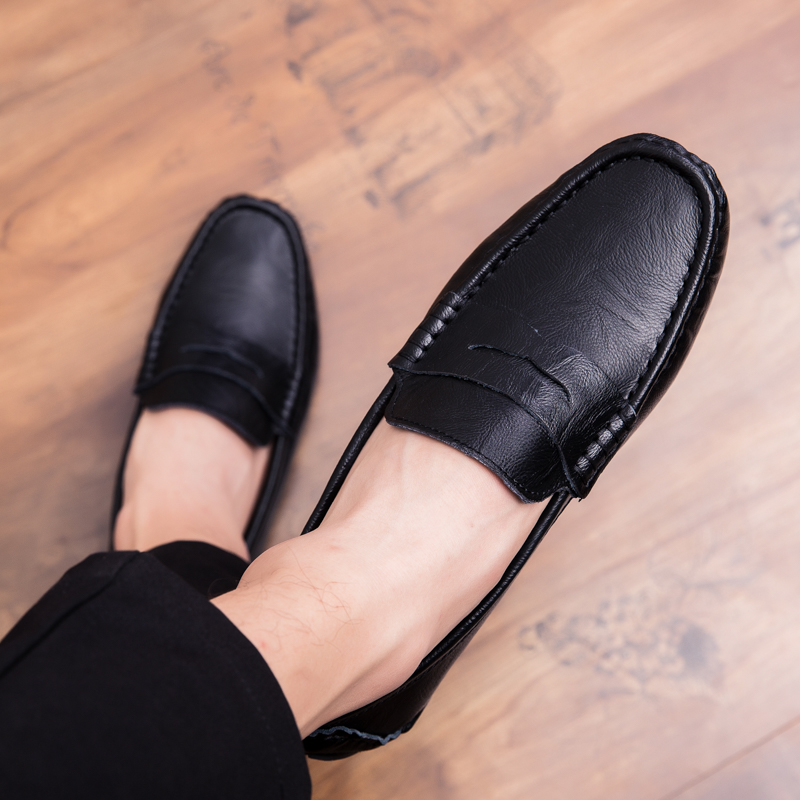 Men Loafers Shoes outdoor Italy Oxfords Business Dress Boat Shoes Formal Oxford Men Flat Shoes Wedding party shoes p4 41