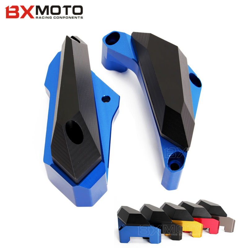 pair Motorcycle accessories Guard Cover Engine Stator Case Protector Frame Slider For Yamaha YZF R25 2013-2015 YZF R3 2015 2016 motorcycle accessories engine guard cover kit for for honda msx1252013 2016 msx125sf 2013 2016