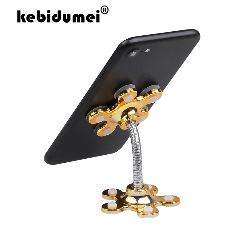 Universal Mobile Car Cell Phone Holder Stand Sucker Holder 360 Degree Adjustable for iphone 5 6 7 plus Samsung Suction Cup Mount Car phone