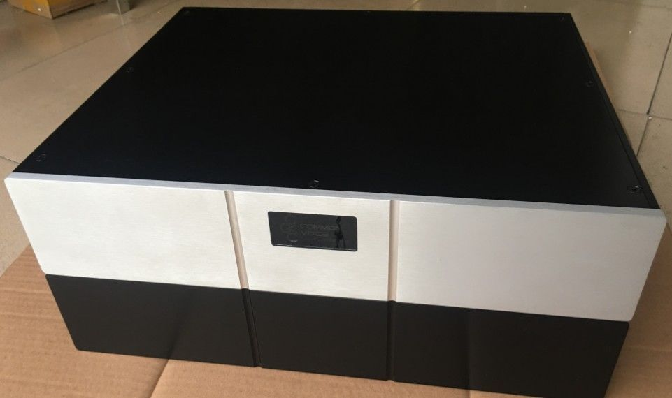 DIY Full Aluminum preamp Chassis / Power Amplifier Enclosure 430*90*358mm
