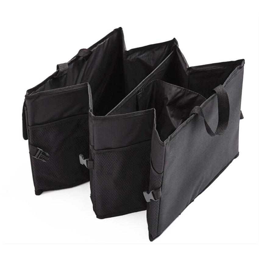 Car trunk foldable Organizer Auto Storage Box For skoda superb 2 renault logan disc golf vesta lada passat b8 forester suzuki sw