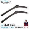 "Hatchback Wiper Blades para SEAT Ibiza 1993-2002 21 ""+ 19"", conjunto de 2, Melhores Limpadores de Párabrisas"