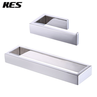 KES Bathroom Accessories Toilet Paper Holder/Towel Ring SUS304 Stainless Steel Wall Mount, Polished Finish, LA2300 21