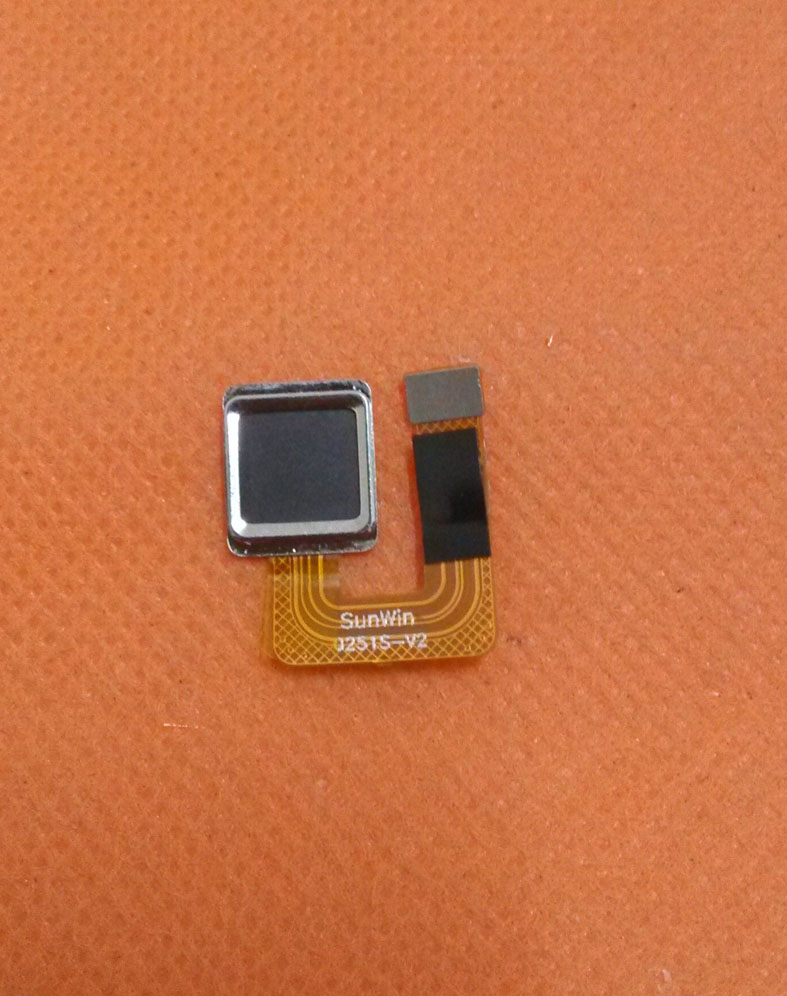 Used Original Fingerprint Sensor Button For Elephone P8000 5.5
