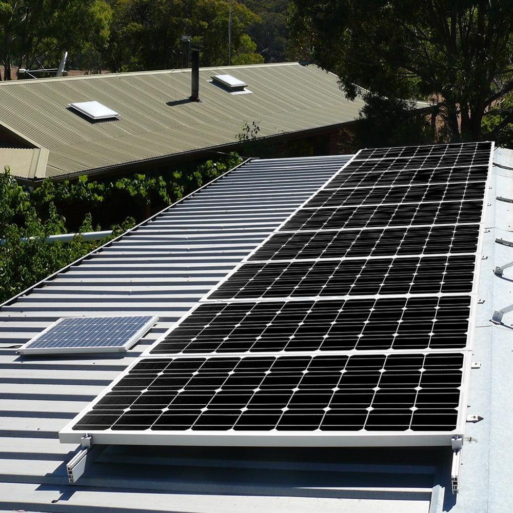 Dokio Marque panneau solaire Chine 100 W Monocristallin De Silicium 18 V 1175x535x25 MM Taille Top qualité Solaire batterie Chine # DSP-100M - 6