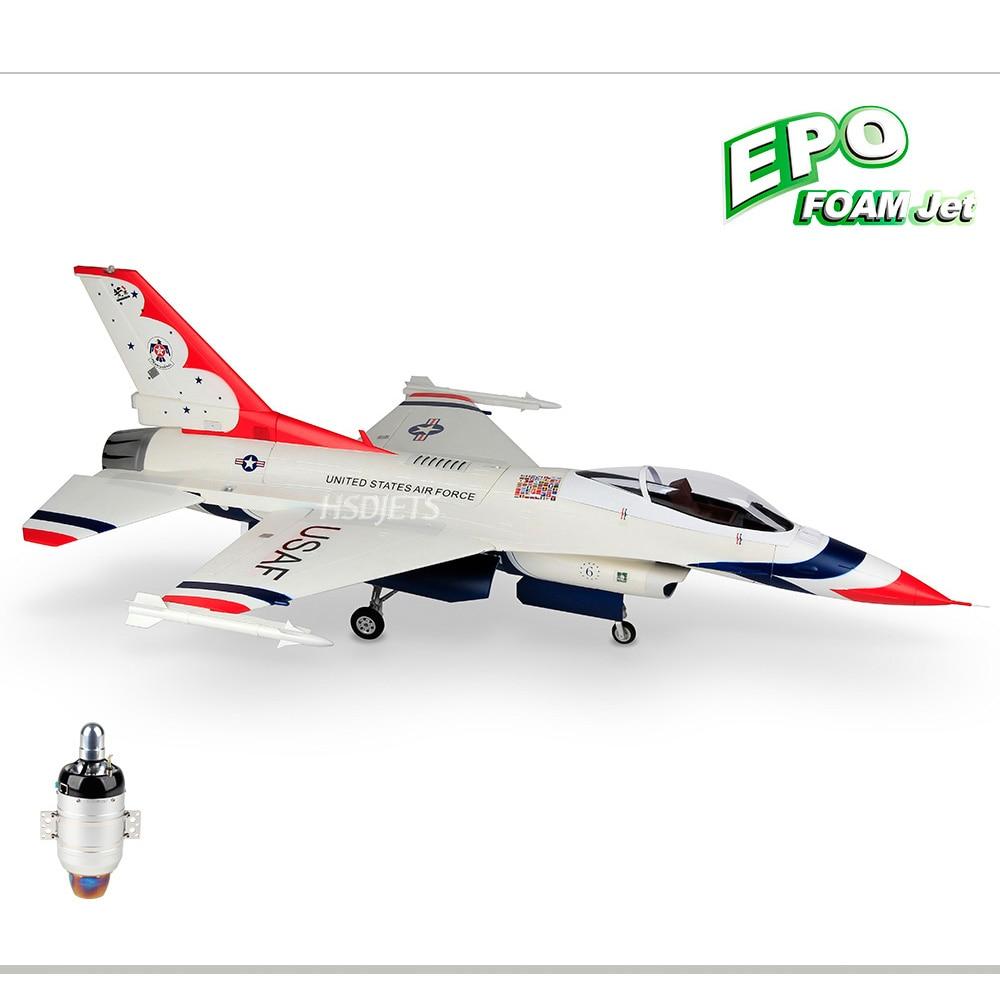 F 16 THUNDER BIRD RC JET Camouflage Airplane 6/K60 Turbine Engine RC Fixed Wing Jetcat Airplane PNP/ARF