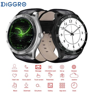 Diggro DI05 Smart Watch Android 5.1 Bluetooth 4.0 8GB ROM 23G Network NANO SIM Card WIFI GPS Calling Smartwatch For iOS Android diamond stylish watches for girls
