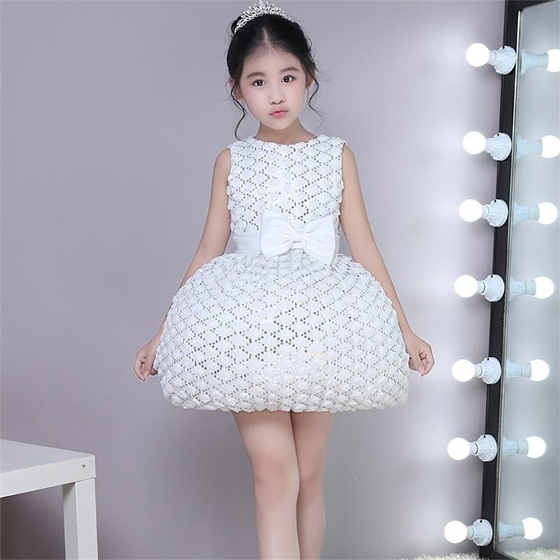 High quality children s dress princess dress flower children s birthday dress girl piano dance host