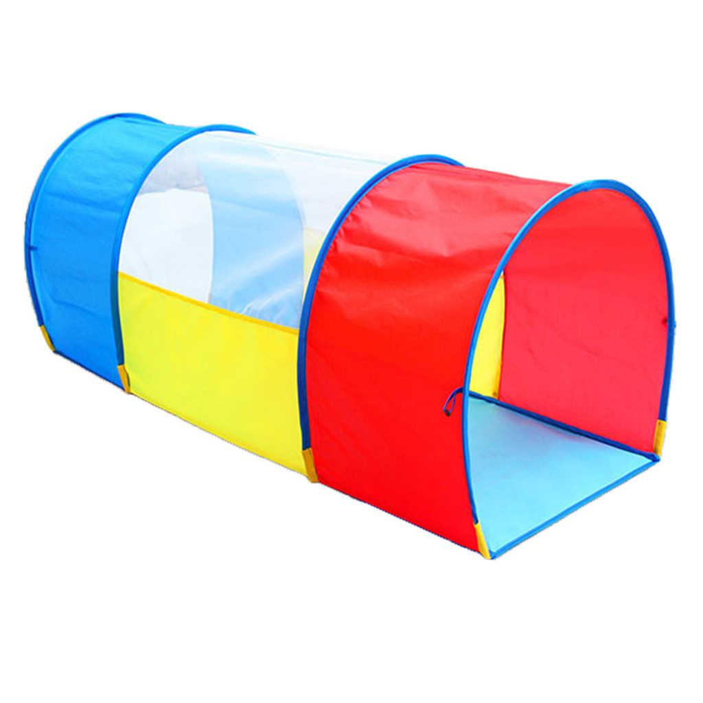 Túneles para jugar para niños, túnel para interiores y exteriores para niños pequeños, juguete para regalo Pop-Up portátil