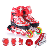 1 Satz NEUE Coole Kinder Inline-skates Skating Helm Knieschützer Zahn Einstellbare Waschbar Harte Räder Jugendliche