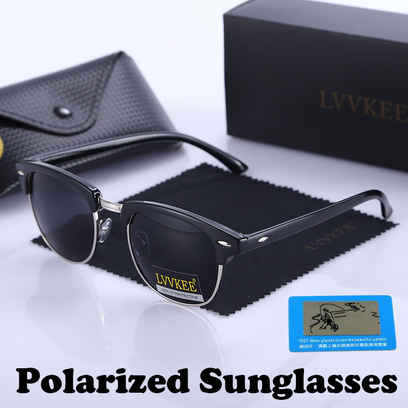 Classic Brand Polarized Night Vision Club Sunglasses Men