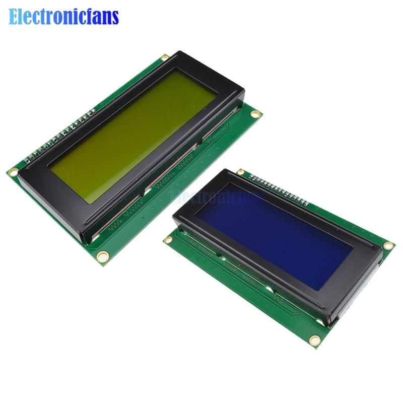 Optoelektronische Displays 1 Stücke Lcd Bord 2004 20*4 20x4 Lcd 20x4 5 V Blau Oder Gelb Bildschirm Lcd2004 Display Lcd Modul Lcd Für 3d Drucker Iic Adpater