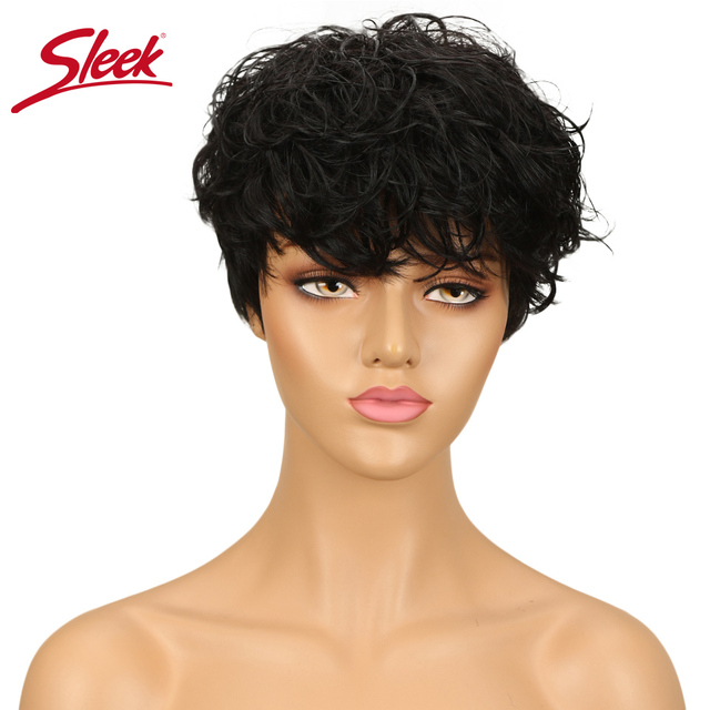 מלוטש ברזילאי רומנטיקה מארג פאות גל מים פאת רמי צבעוני שיער טבעי פאות משלוח חינם Perruque Cheveux Humain