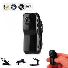 الرياضة كاميرا MD80 كاميرا صغيرة DV مسجل فيديو صوت مايكرو كام للخارجية التنزه خوذة المحمولة Camaras Espia