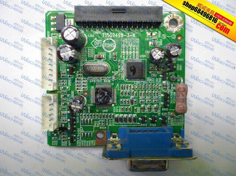 Free Shipping> X173W logic board 715G2498-3-K driver board / motherboard -Original 100% Tested Working free shipping hg191 logic board 715g1558 1 bj driver board motherboard signal board original 100% tested w