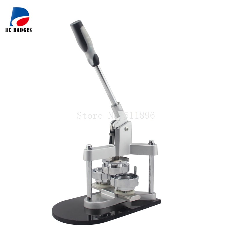 2 1/4 58mm Aluminium Button Making Machine Badge Press Machine 2016 new machine manual press badge making machine factory direct sale