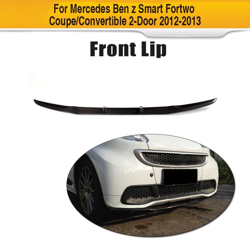 Smart Roadster Front Lip Bumper Spoiler Diffuser Add On