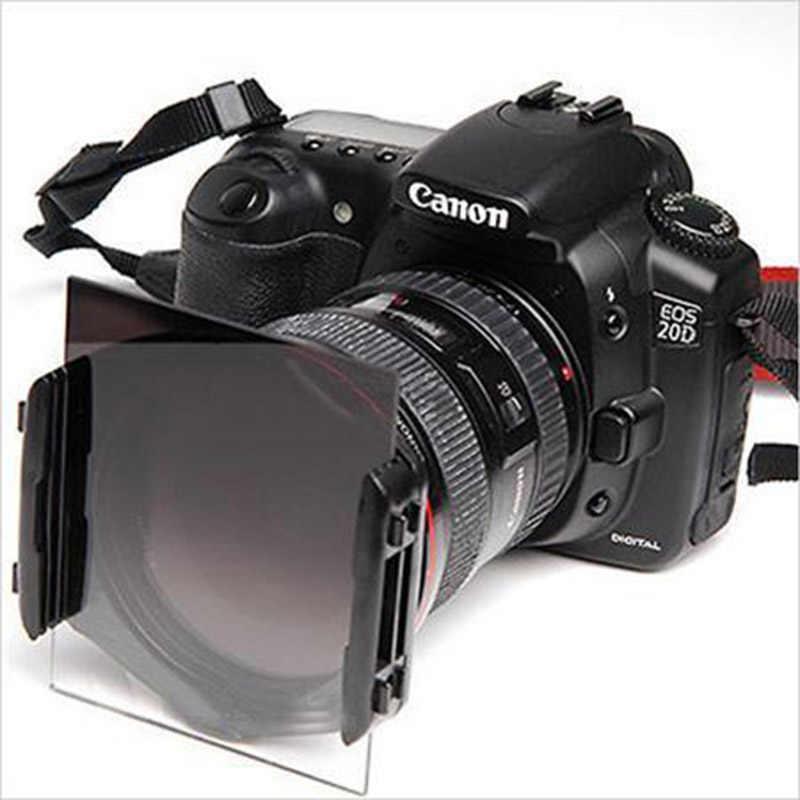 กล้องPซีรีส์สแควร์เลนส์ลาดกรองเต็มND2 ND4 ND8 ND16กรองผู้ถือฮู้ดสำหรับCokin P Canon Nikon Sony dlsrกล้อง